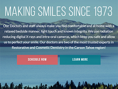 Carson Tahoe Website Design